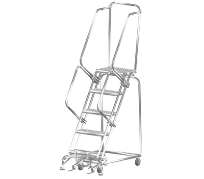Pharmaceutical Supplies, Steel rolling ladders, Safety ladders, steel ladders, aluminum ladders, stainless steel ladders, step stools, Ballymore ladders, in south Florida, Florida, Broward, Miami