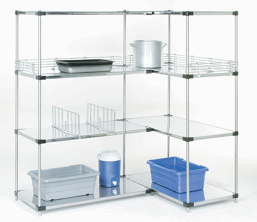 Pharmaceutical Supplies - Solid shelving