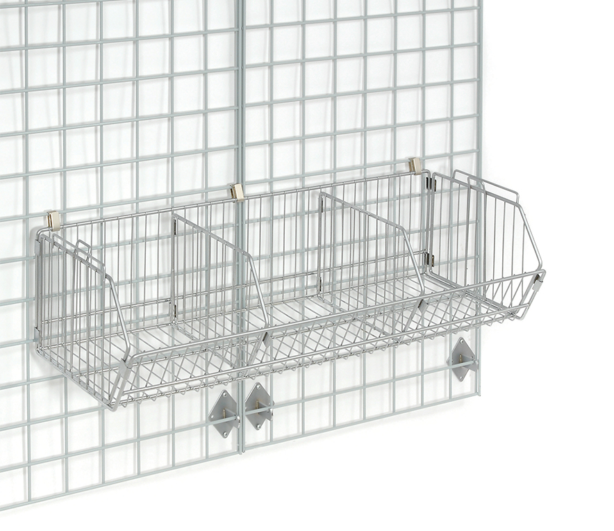 Pharmaceutical Supplies -Wire Walls Bins, Shelving