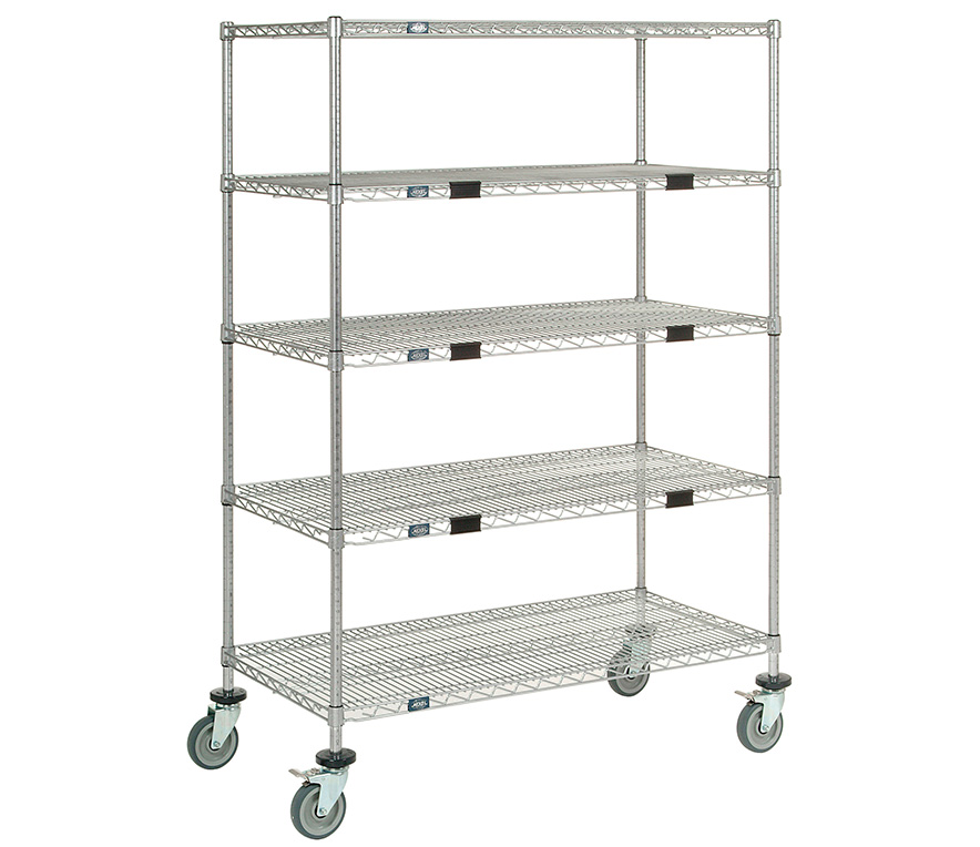 Pharmaceutical Supplies - Mobile Wire Shelving, Wire Storage